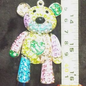 New Moveable Teddy Bear Necklace!